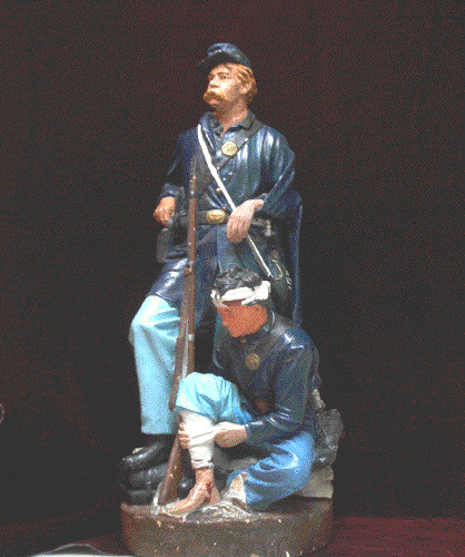Civil war sculpture